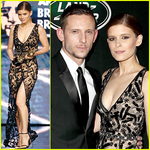 Kate Mara & Jamie Bell Couple Up at Britannia Awards!