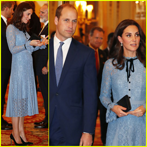 Kate Middleton Shows Tiny Baby Bump at First Appearance Since Pregnancy Announcement