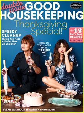 Kathryn Hahn Shares Mag Cover with Movie Mom Susan Sarandon