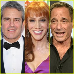 Kathy Griffin Slams Andy Cohen & Harvey Levin, Dice Que 'Viven a Tomar a las Mujeres'