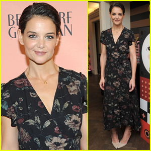 Katie Holmes Attends FAO Schwarz's Holiday Collection Launch