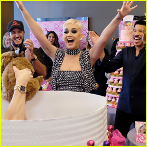 Katy Perry Celebrates Birthday Early with an 'American Idol' Puppy Party!