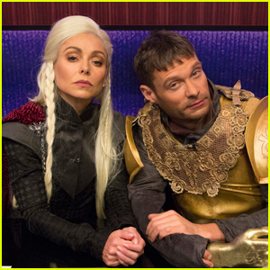 Kelly Ripa & Ryan Seacrest Do 'Game of Thrones' For Halloween!