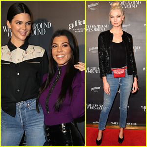 Kendall Jenner & Kourtney Kardashian Enjoy a Sisters Night Out in Beverly Hills!
