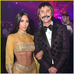 Kim Kardashian Dresses as Cher for Halloween with Jonathan Cheban as Sonny Bono!