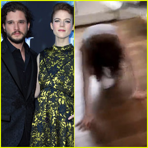Kit Harington's April Fools Prank on Rose Leslie Was Horrifying - Watch Now