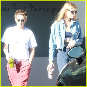 Kristen Stewart & Stella Maxwell Qwench Their Thirst in Los Angeles