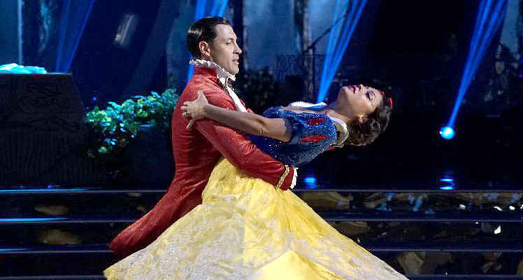 Vanessa Lachey Dances as Snow White for ?DWTS? Disney Night (Video)