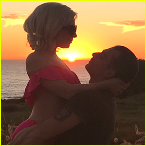Lady Gaga's Boyfriend Christian Carino Lifts Her Up in Sweet Snap