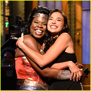 Leslie Jones Dresses Up as Wonder Woman for Gal Gadot on 'SNL' - Watch Now!