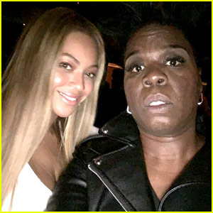 Leslie Jones Was So Nervous Getting Selfies with Beyonce & Jay-Z!