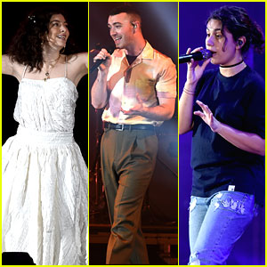 Lorde, Sam Smith, & Alessia Cara Wow the Crowd at We Can Survive Concert