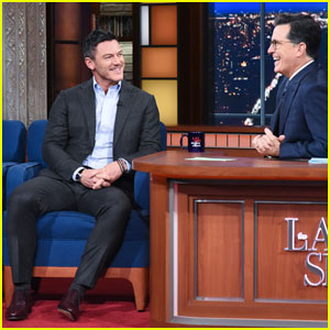 Luke Evans Says Marvin Gaye Helped 'Professor Marston' Cast Get Through Polyamorous Love Scenes!
