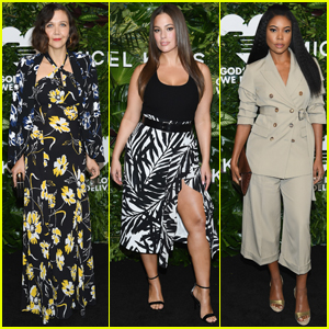 Maggie Gyllenhaal, Ashley Graham & Gabrielle Union Get Glam For Golden Heart Awards