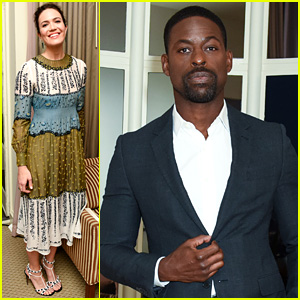 This Is Us' Mandy Moore & Sterling K. Brown Step Out for Valentino x InStyle Party!
