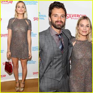 Margot Robbie & Sebastian Stan Bring 'I, Tonya' to Hamptons Film Fest