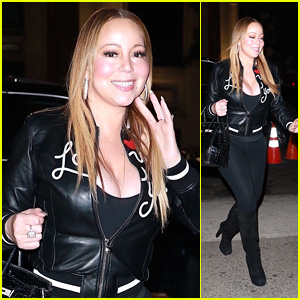 Mariah Carey Flashes a Smile While Grabbing Sushi in NYC!