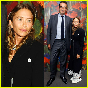 Mary-Kate Olsen & Olivier Sarkozy Make Rare Red Carpet Appearance