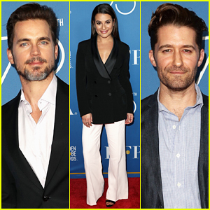 Matt Bomer, Lea Michele & Matthew Morrison Step Out for TV Game Changer Panel!