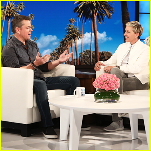 Matt Damon Tells 'Ellen' He Isn't Giving George Clooney Twins Advice