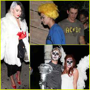 Stars Go All Out for Matthew Morrison's Halloween Party!
