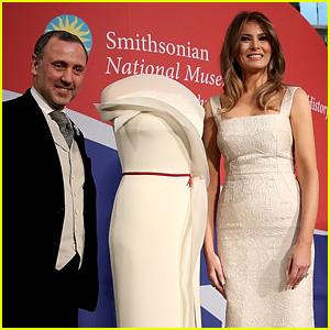 Melania Trump Donates Her Inauguration Gown to Smithsonian