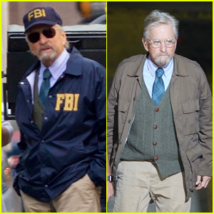 Michael Douglas Gets Into Character While Filming 'Ant-Man and the Wasp'!