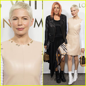 Michelle Williams & Bestie Busy Philipps Hit Up Louis Vuitton Vendome Flagship Opening!