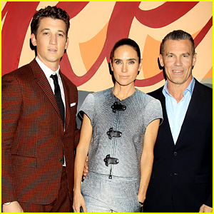 Miles Teller, Jennifer Connelly, & Josh Brolin Bring Their Significant Others to 'Only the Brave' Screening