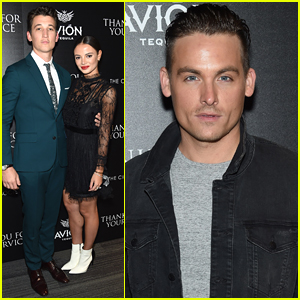 Miles Teller & Fiancee Keleigh Sperry Screen 'Thank You For Your Service' in NYC