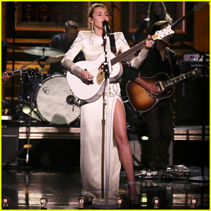 Miley Cyrus Performs 'Week Without You' on 'The Tonight Show' - Watch Here!