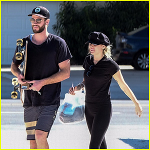 Miley Cyrus & Liam Hemsworth Return to the Spot They First Fell in Love!