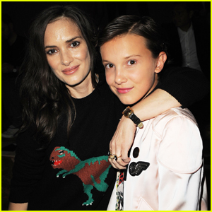 Millie Bobby Brown Introduced Winona Ryder to Snapchat!