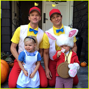 Neil Patrick Harris & David Burtka's Family Halloween Costumes with Their Twins Are Too Cute