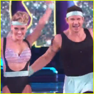 Nick Lachey Does Jazzercise for His 'DWTS' Performance! (Video)