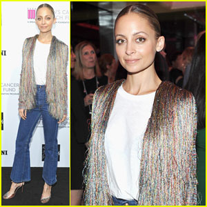 Nicole Richie Supports Women's Cancer Foundation at Key To The Cure Event!
