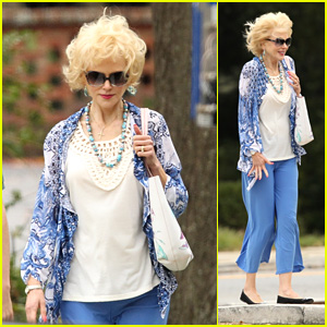 Nicole Kidman Fights Off the Freezing Cold While Filming Her New Movie 'Boy Erased'!