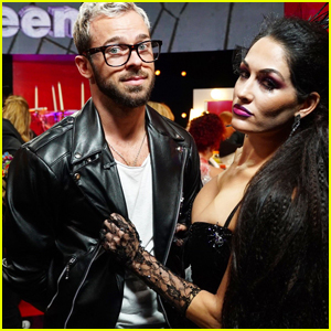 Nikki Bella Does the Jive For 'DWTS' Halloween Night! (Video)