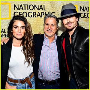 Ian Somerhalder & Nikki Reed Support Her Dad Seth at 'The Long Road Home' Premiere!
