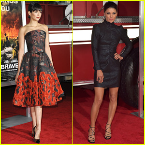 Nina Dobrev & Jessica Szohr Support Friend Miles Teller at 'Only the Brave' Premiere
