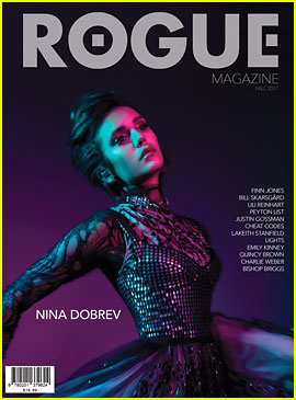 Nina Dobrev Talks 'Vampire Diaries' Exit with 'Rogue' Magazine