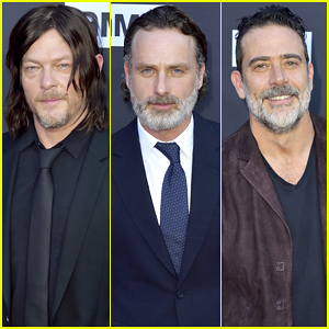 Norman Reedus, Andrew Lincoln & 'The Walking Dead' Cast Celebrate 100th Episode!