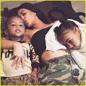Kim Kardashian Clears Up Rumors About North & Saint's Relationship