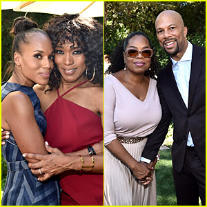 Kerry Washington, Angela Bassett, Common & More Stars Visit Oprah Winfrey's House for Gospel Brunch!