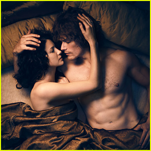 Outlander's Jamie & Claire (Sam Heughan & Caitriona Balfe) Finally Reunite!