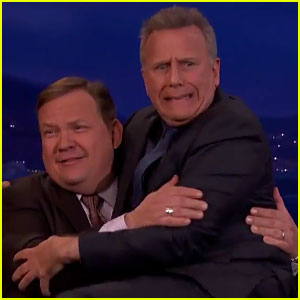 Paul Reiser Gets Scared by New 'Stranger Things' Clip on 'Conan' - Watch!