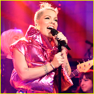 Pink Performs 'What About Us' & 'Beautiful Trauma' on 'SNL' - Watch Now!
