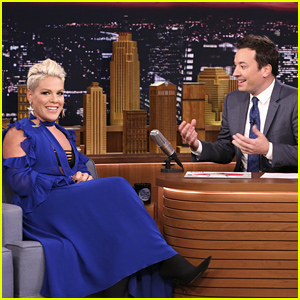Pink Reveals That Her Baby Boy Jameson Cries When She Sings!