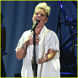 Pink Sings Five Hits at 'We Can Survive' Benefit Concert
