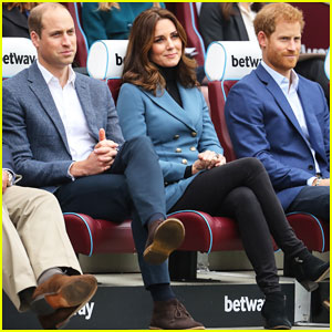 Pregnant Kate Middleton Makes Surprise Appearance at Coach Core Graduation Ceremony!